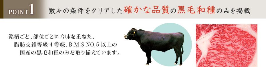 選べる国産和牛説明1